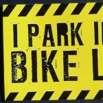 I Park in the Bike Lane magnet