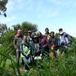 Tour group in Buena Vista Park