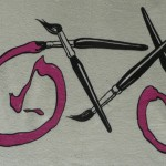 Paint brush bike