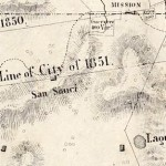 1853 map by Clement Humphreys, SF County Surveyor