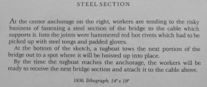 Bay Bridge Steel Section text