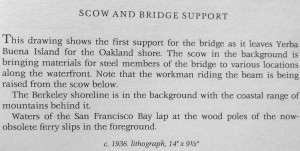 Scow and Bridge Support text